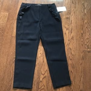 *NEW* zara ankle tapered trouser